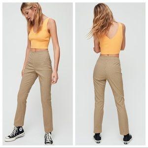 Aritzia Sunday Best high waist pants sz 6 (b223)
